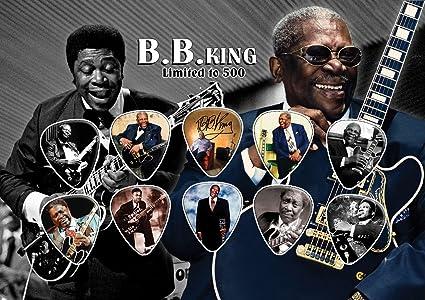 BB King firmado autógrafo pantalla de púa de guitarra (limitada a ...