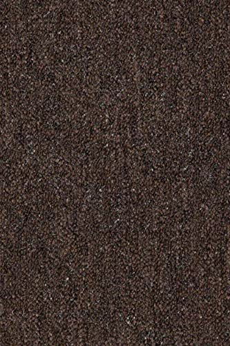 Home Queen Color World Collection Pet Friendly Indoor Outdoor Chocolate Color Area Rug – 3 x5