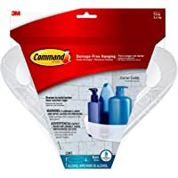 Command Corner Caddy with Water-Resistant Strips (BATH12-ES), Organize your dorm