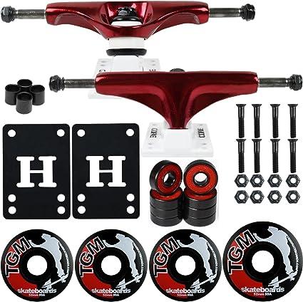 "Cal 7 Truck 1//8/"" Skateboard Riser Pads Rubber Red Color"