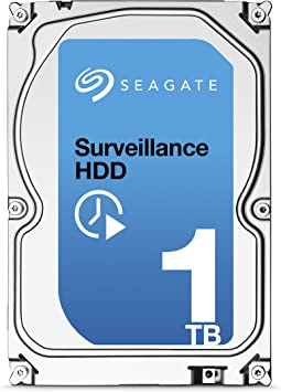 ST1000VX001 HDD Seagate Surveillance 1000GB Internal Silver