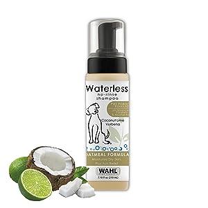 Wahl Natural Pet No-Rinse Waterless Shampoos