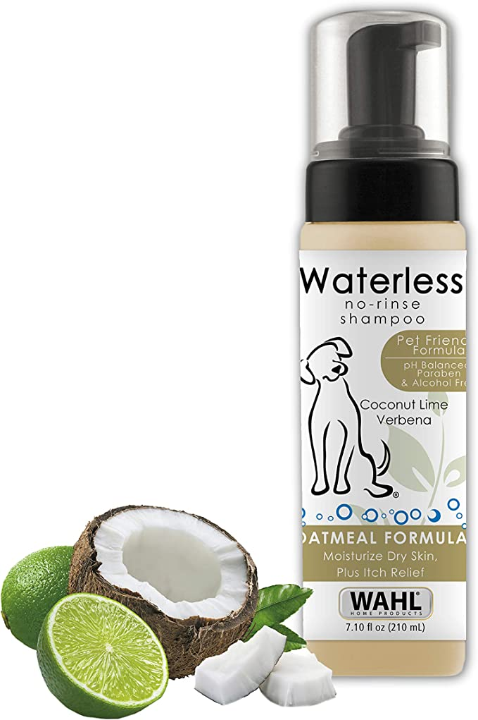 Wahl Pet-Friendly Waterless No Rinse Shampoo - Best Waterless Shampoo for Itching