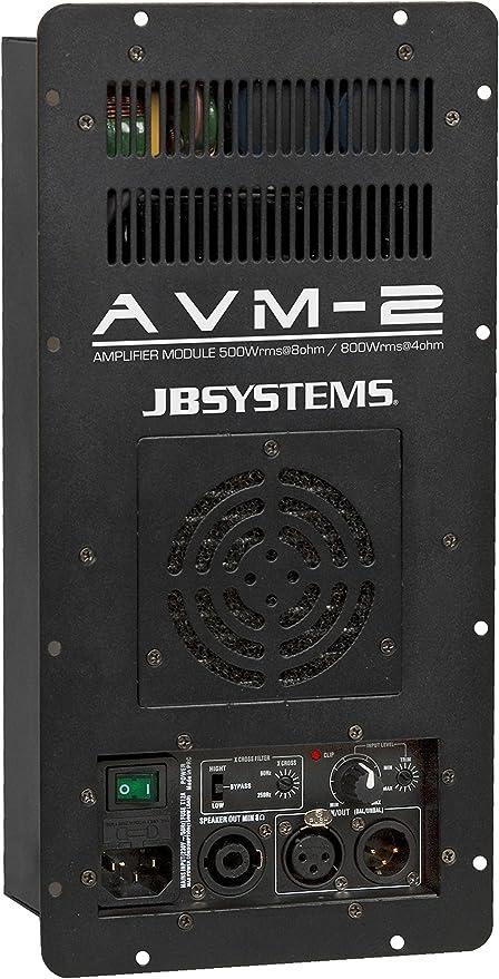 Jb Systems Avm 2 Endstufen Modul 850w 4ohm Musikinstrumente