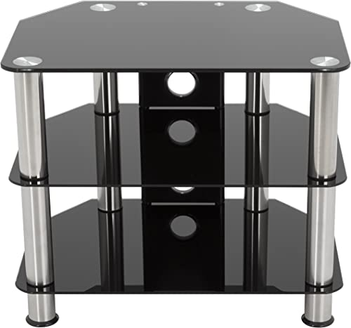 AVF 'SDC600CM-A' Black Glass - the best modern tv stand for the money