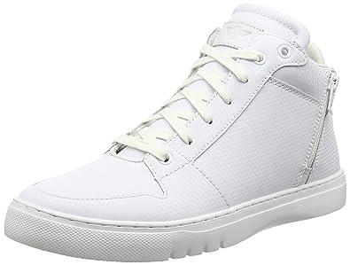 Creative Recreation Men's Adonis Mid Fashion Sneaker, White/White, ...