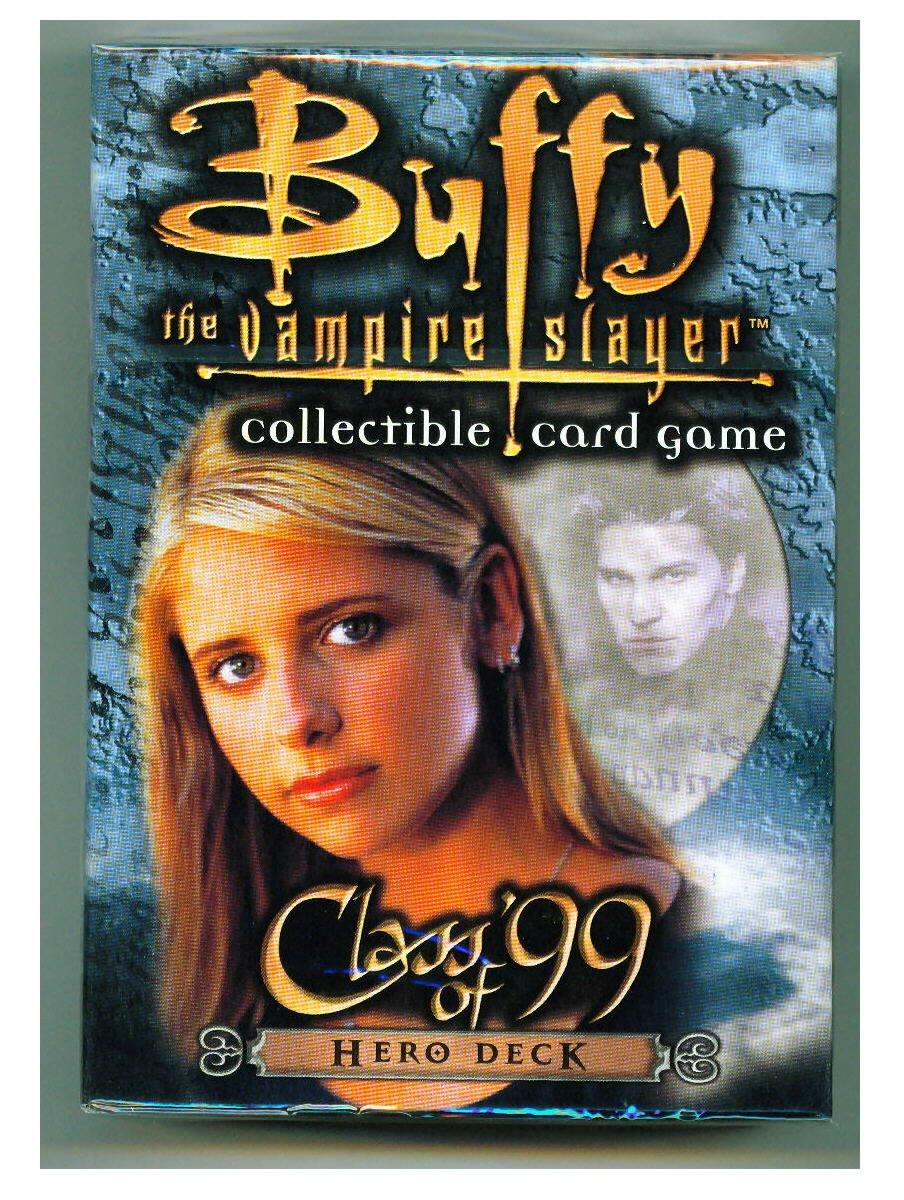 Buffy the Vampire Slayer Card Game Class of 99 Hero Deck Score SG/_B001PDLUKA/_US