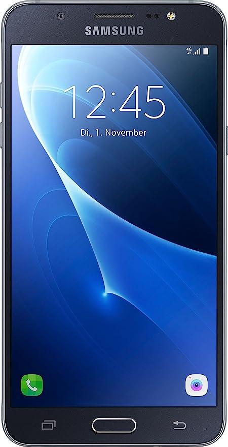 Samsung SM de j710fzkn DBT Galaxy J7 – 2016 Smartphone (5,49 Pulgadas (13,93 cm Pantalla Táctil, 16 GB de Memoria, Android Beam) Negro- Versión Extranjera: Amazon.es: Electrónica