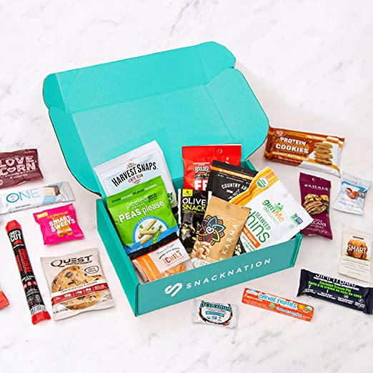 snacknation gift subscription box best men's gift subscription