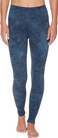 8ac9582a14b20 Alo Women's High Waisted Airbrush Leggings Indigo Acid Wash XX-Small ...