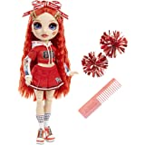Rainbow High Cheer Ruby Anderson – Red Cheerleader Fashion Doll with 2 Pom Poms and Doll Accessories, Great Gift for Kids 6-1