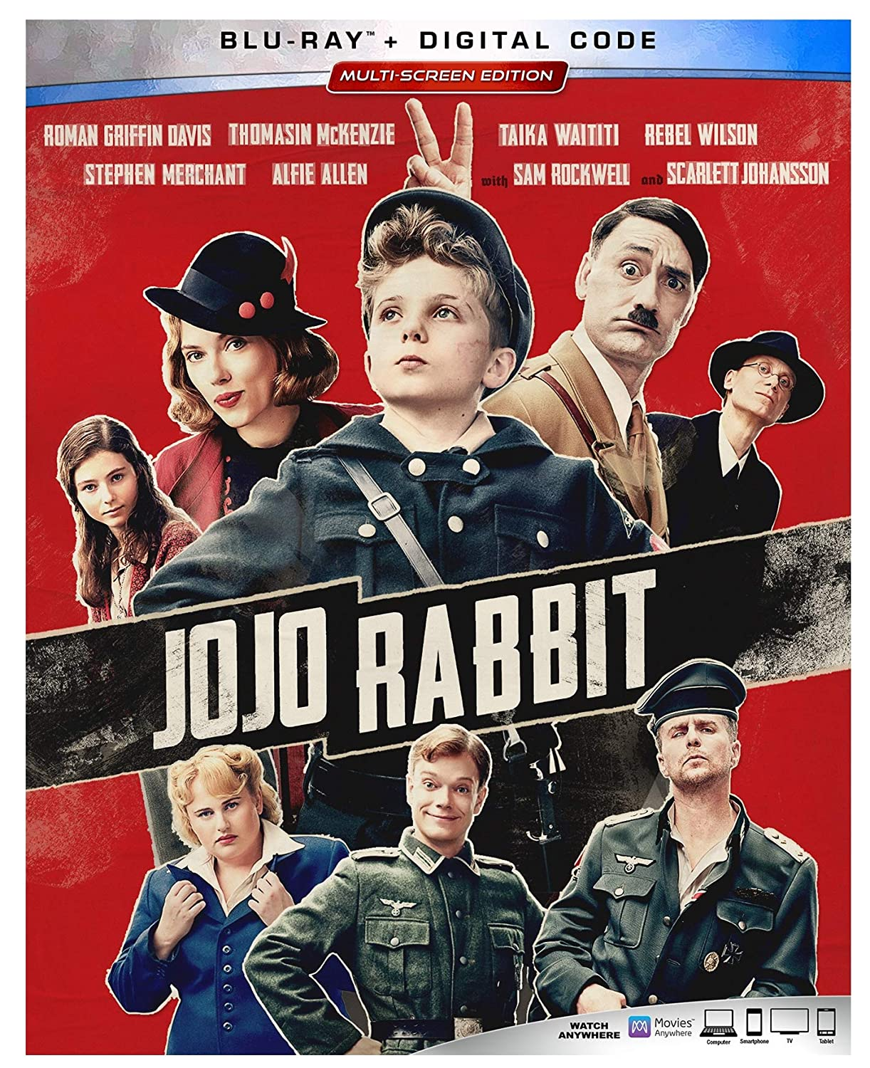 Jojo Rabbit (2019) BluRay – Dual Aiudio – DD5.1[Hindi  Eng] – 1080p -720p – x264  MSub
