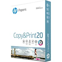 HP Printer Paper 8.5x11 Copy&Print 20 lb 1 Pack 400 Sheets 92 Bright Made in USA FSC Certified Copy Paper HP Compatible…