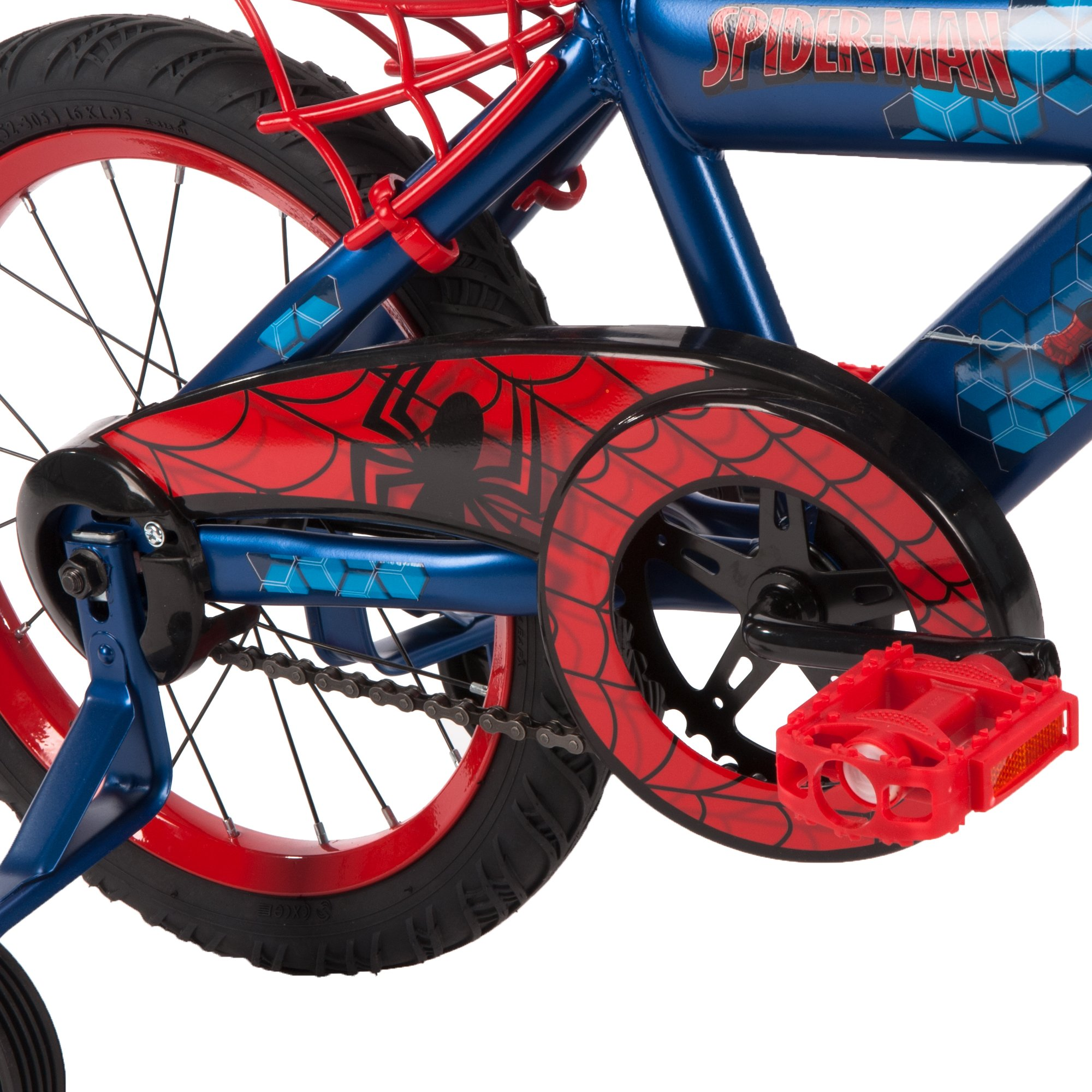 16'' Marvel Spider-Man Bike by Huffy, Ages 4-6, Height 42-48'' by Huffy (Image #7)