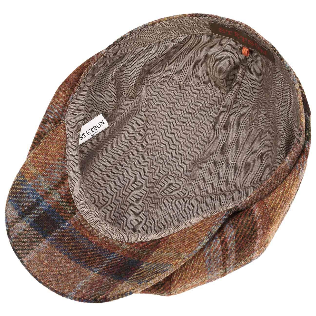 Stetson Gorra Hatteras Wool Check Hombre | Made in The EU Gorros con Visera Gorro Ivy de Invierno Visera, Forro otoño/Invierno: Amazon.es: Ropa y accesorios