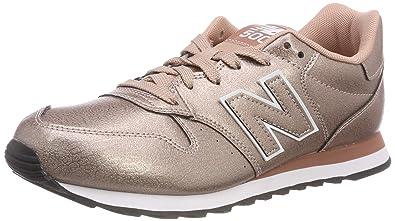 New Balance Damen 500 Sneaker, Silber
