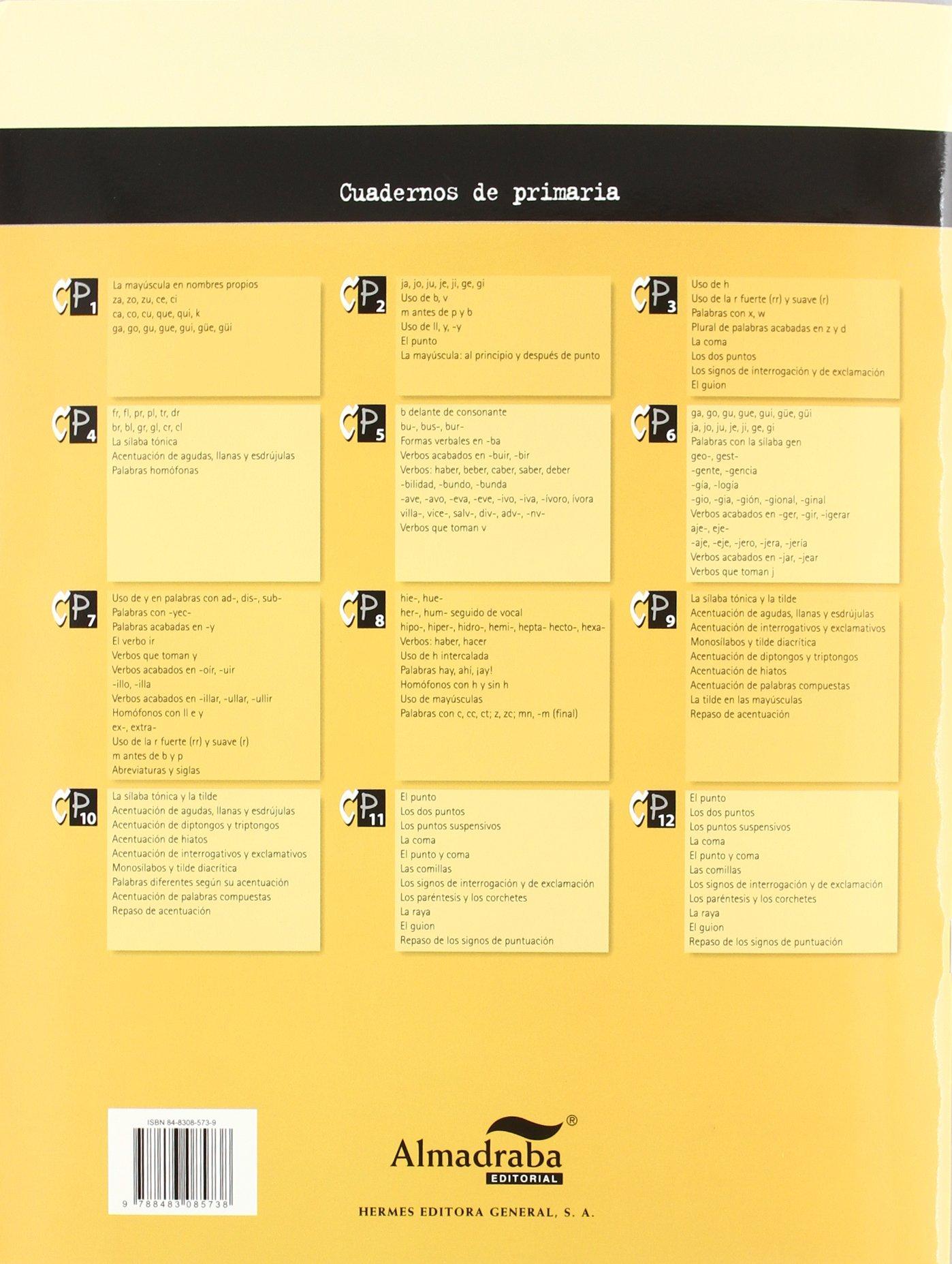 Cp Ortografía 7 Sa Hermes Editora General 9788483085738 Amazon