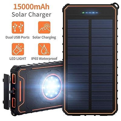 Solar Charger 15000mAh Portable Power Bank