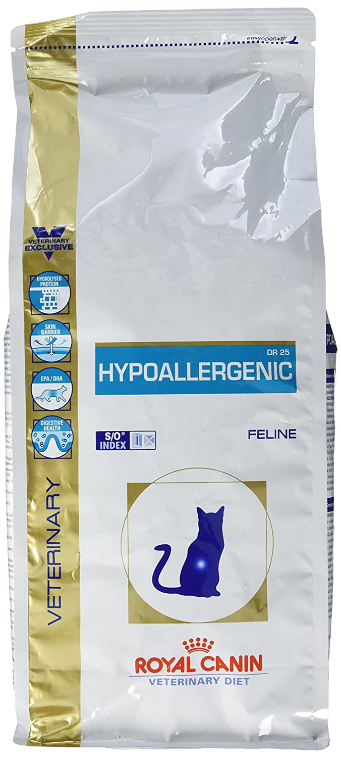 Royal Canin Hypoallergenic DR 25 Nourriture pour Chat 2, 5 kg 3182550711111