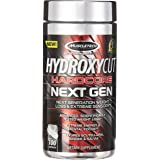 MuscleTech Hydroxycut Hardcore Next Gen - 100 Capsules (Ginger and Salvia)