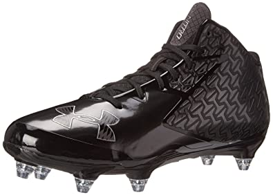 Under Armour Men s Nitro Mid Detachable Football Shoe Black (003) Charcoal  6.5 ebf6e2170