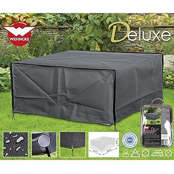 Deluxe Schutzhülle Für Rattan  Garten Lounge Set 200x160cm, Polyester 420D  U2022 Gartenmöbel