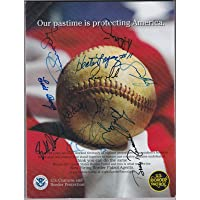 $145 » 21 Ny Yankees Signed 2008 All Star Game Program Guidry Brown Coleman Abbott - JSA Certified - Autographed MLB Magazines