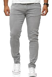 Pantalones Vaqueros de algodón para Hombre G-72 elásticos y ...