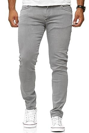 Red Bridge Jeans Slim-Fit Básico Chino de Hombres Denim Elásticos Moda Vaquero