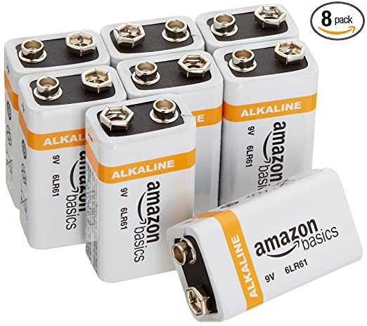 Review AmazonBasics 9 Volt Everyday