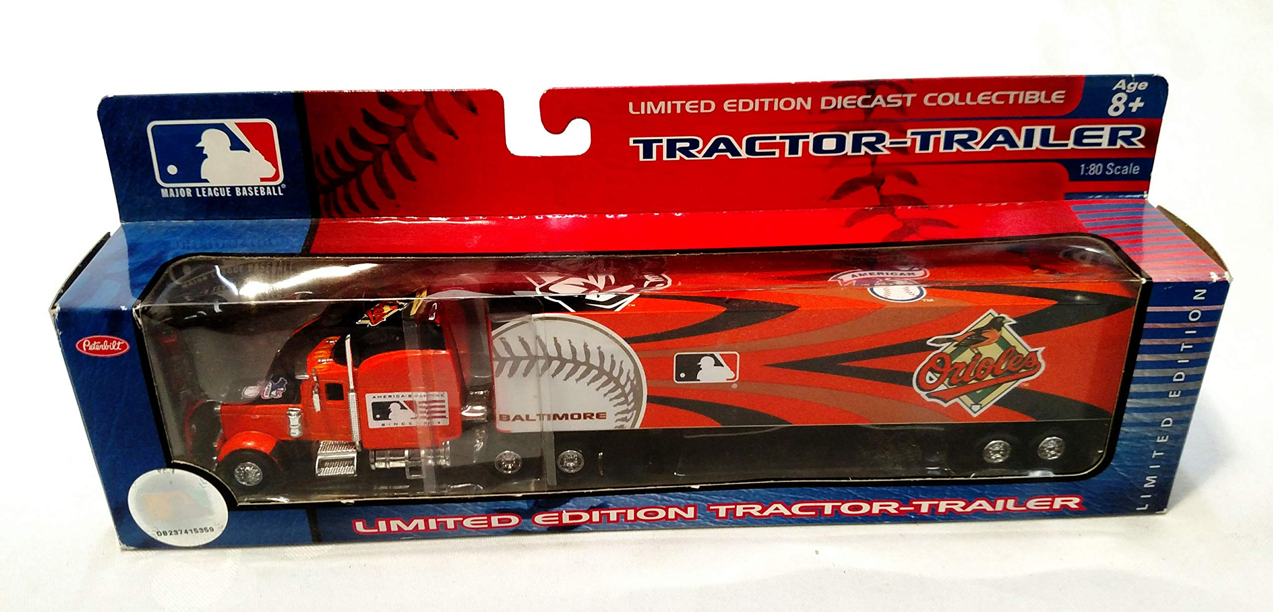 Baltimore Orioles 2006 Limited Edition Die Cast Tractor Trailer