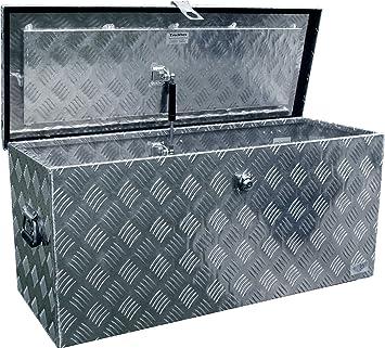 Truckbox D120 caja de herramientas, cofre de aluminio, caja de transporte, herramientas, y otros objetos: Amazon.es: Bricolaje y herramientas