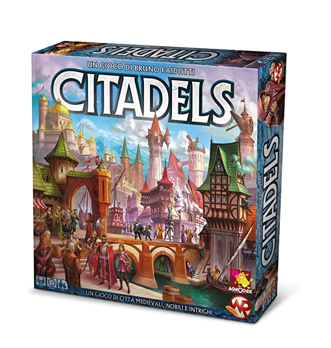 Asmodee Italia - Citadels Edición Italiana, 9800: Amazon.es ...