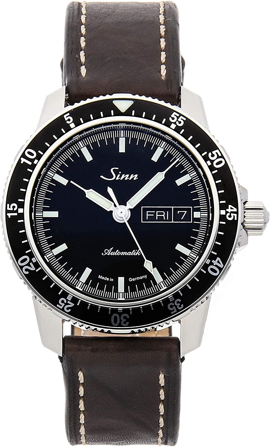 Sinn 104 Mechanical (Automatic) Black Dial Mens Watch 104.010 (Certified Pre-Owned)