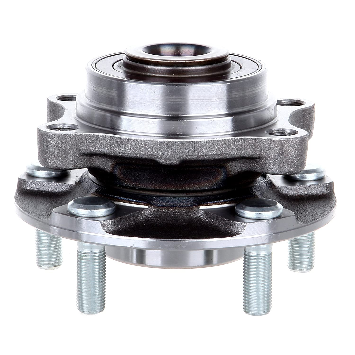 ECCPP Front Wheel Hub Bearing Assembly 5 Lugs w//ABS for 03-07 Infiniti Nissan Compatible with 513268
