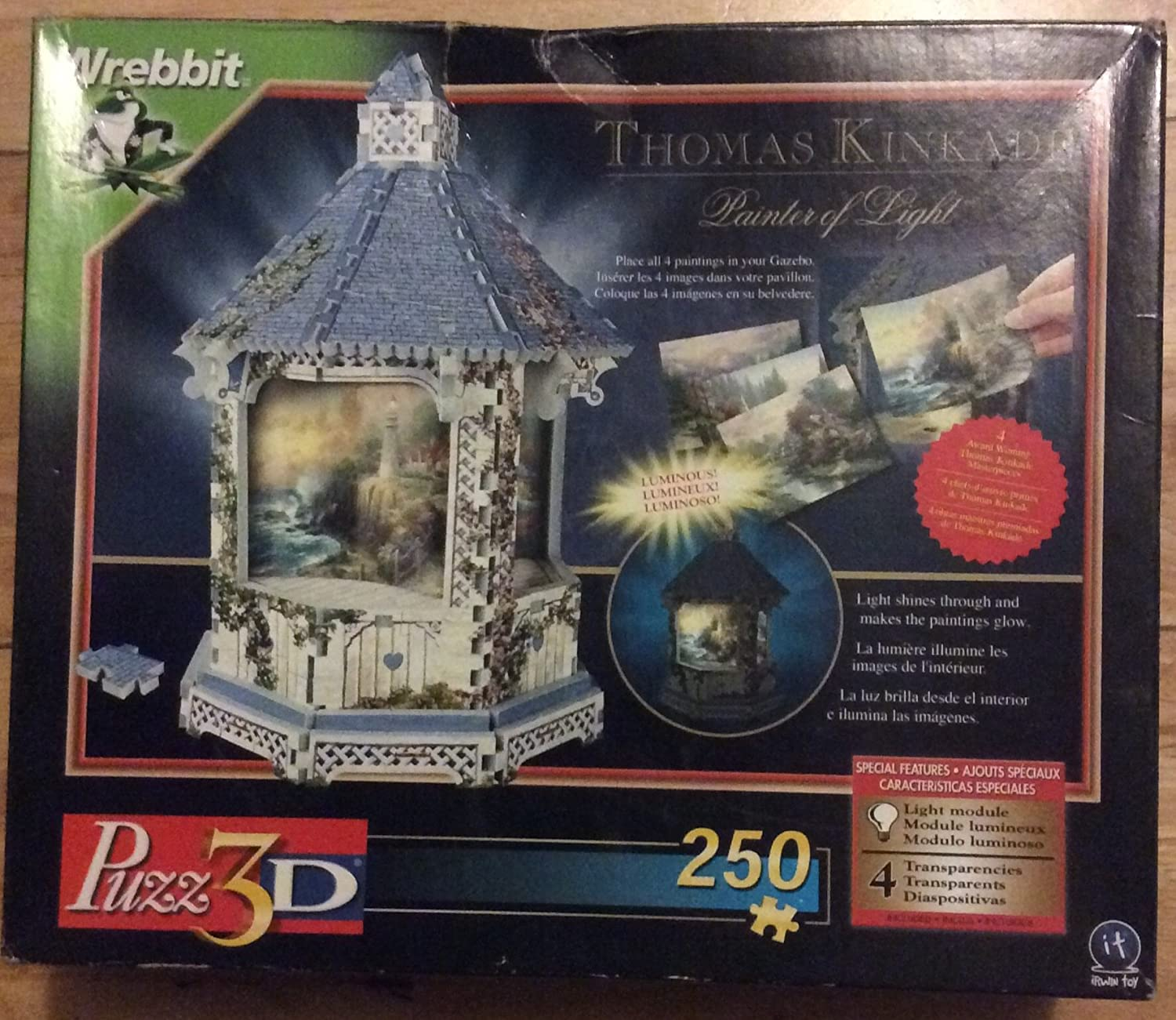 Thomas Kincade ~Painter of Light 3D Puzzle by It by It na