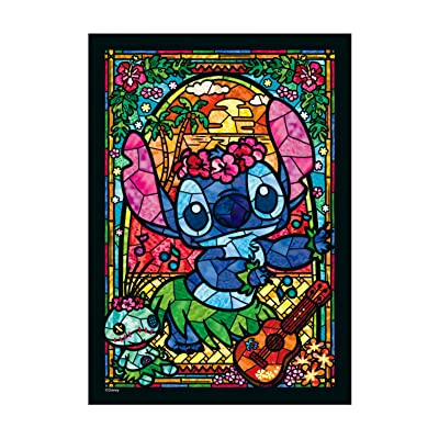 266 piece jigsaw puzzle Stained Art Stitch! stained glass (18.2x25.7cm): Toys & Games