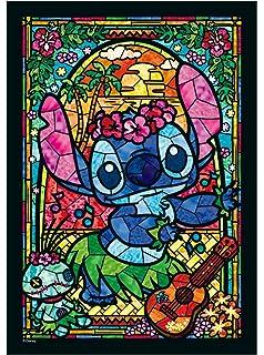 266 piece jigsaw puzzle stained art stitch stained glass 182x257cm