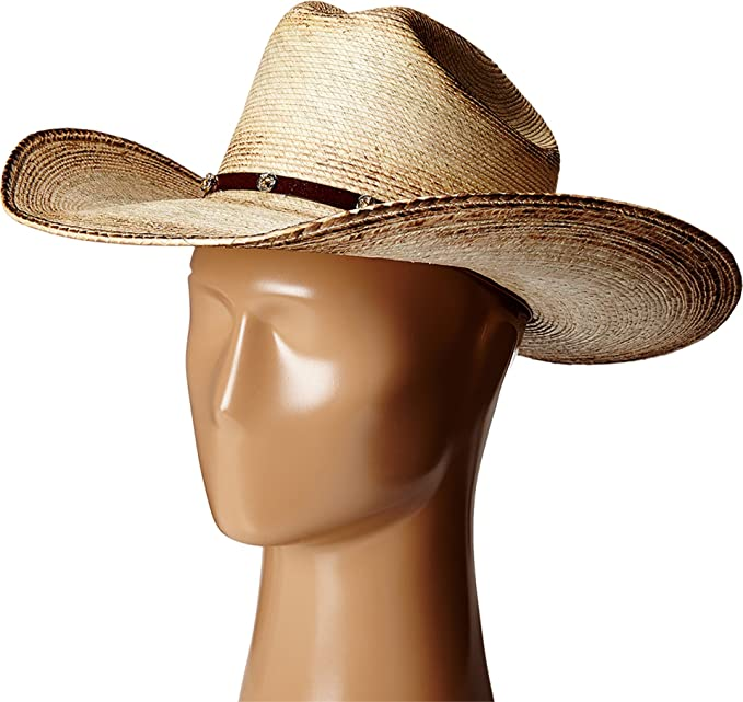 5fa26b32d4401 Ariat Unisex A73106 Fired Palm Brown Hat  Amazon.ca  Clothing   Accessories