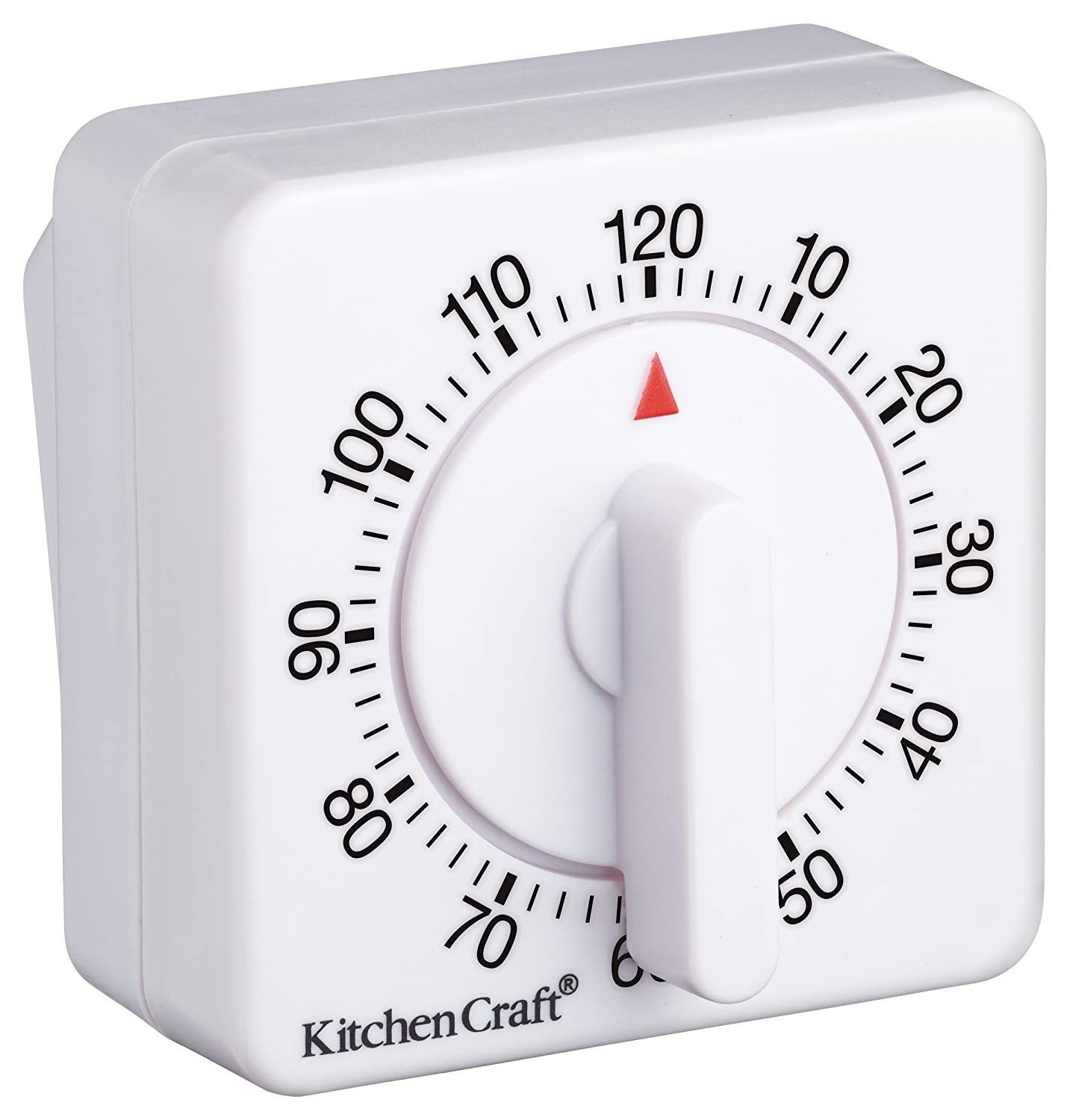 Amazon.com: Deluxe Half Round Wind-up 120 Minute Timer: Kitchen & Dining