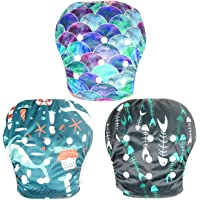 Leekalos One Size Adjustable Reusable Swim Diaper Boys & Girls, Swim Diapers for Baby Shower Gifts & Swimming Lessons…