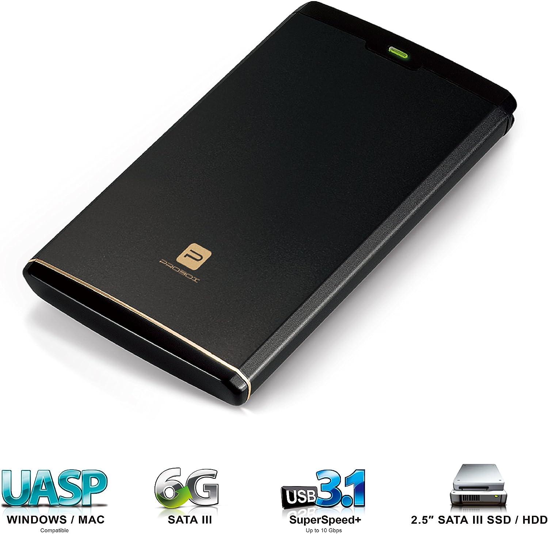 Mediasonic HDK-SU31 - Carcasa de Aluminio para Disco Duro (USB 3.1 ...