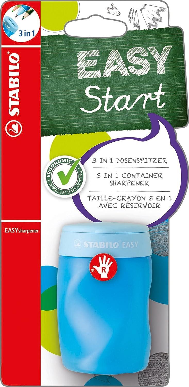 Ergonomischer Dosen-Spitzer für Rechtshänder - STABILO EASYsharpener - 3 in 1 - pink B-41596-3 520150