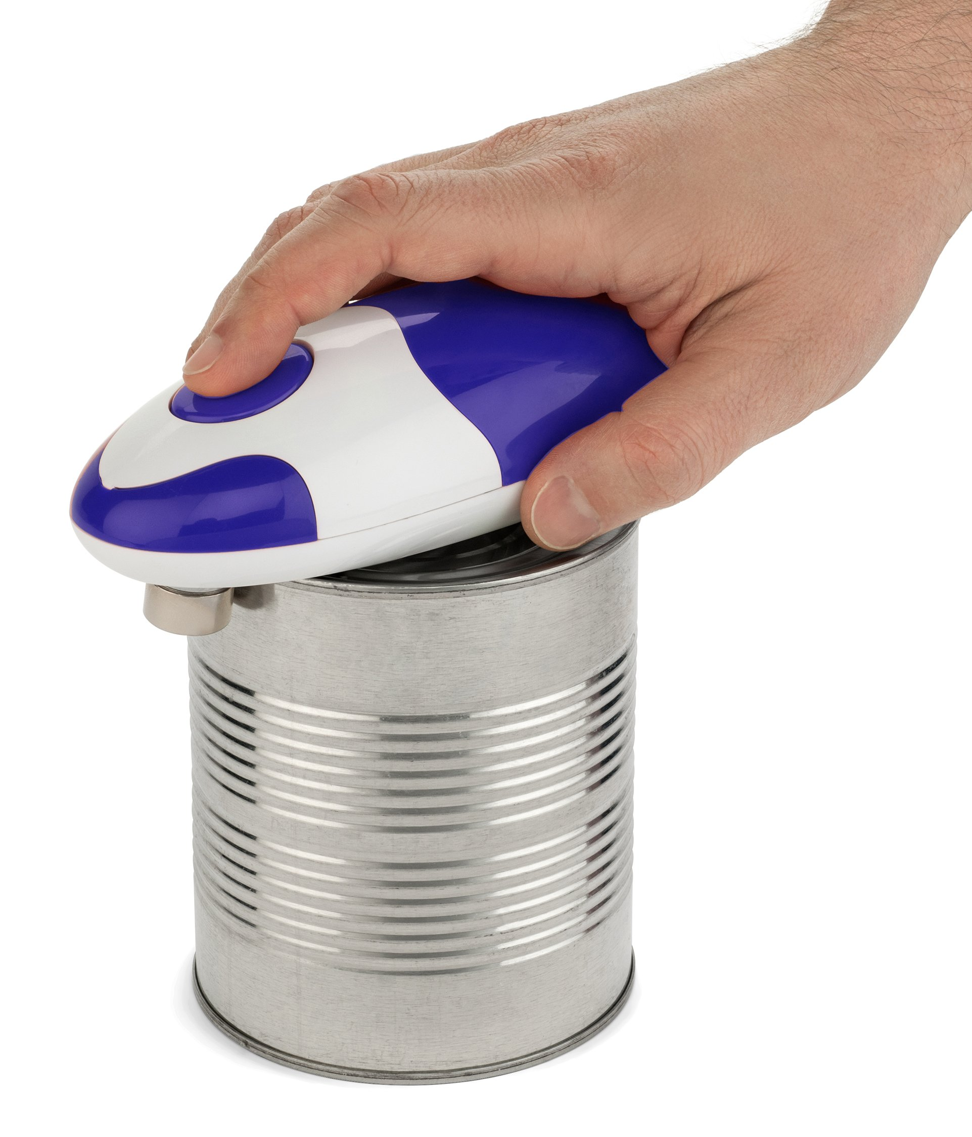 Bartelli Soft Edge Automatic Electric Can Opener - Blue by Bartelli (Image #4)