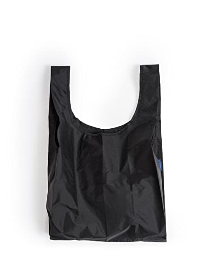 6dc2bb8e0663 Amazon.com: BAGGU Standard Reusable Shopping Bag (One Size, Black): Grocery  Bags: Home & Kitchen