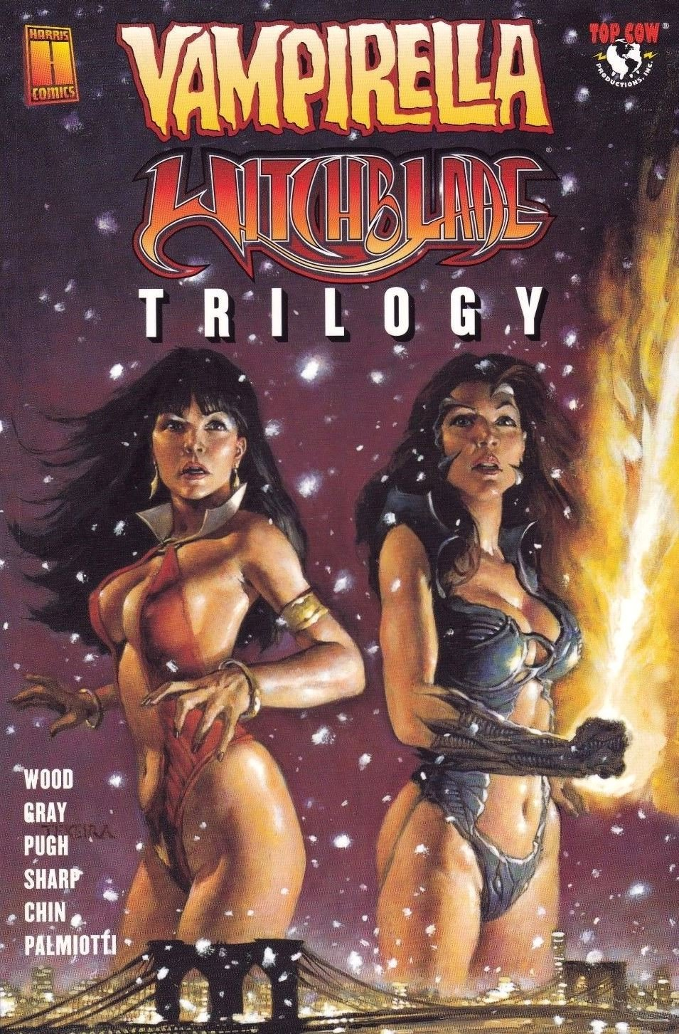 Vampirella Witchblade Union of the Damned 1 Convention Edition Harris Comics