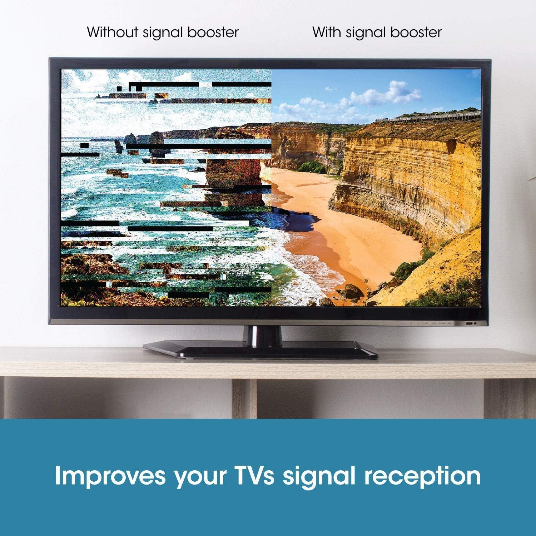 Amplificador de Antena SLx Amplificador de Señal para TV/TDT ...