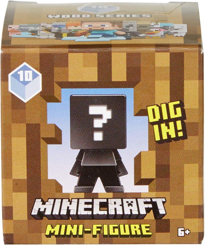 Mattel-FXT80 Minecraft - Caja ciega con diseño de figuras, Multicolor (FXT80) , color/modelo surtido: Amazon.es: Juguetes y juegos