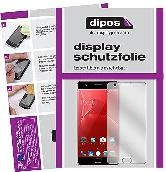 dipos I 2X Protector de Pantalla Compatible con Elephone P8 MAX pelicula Protectora Claro