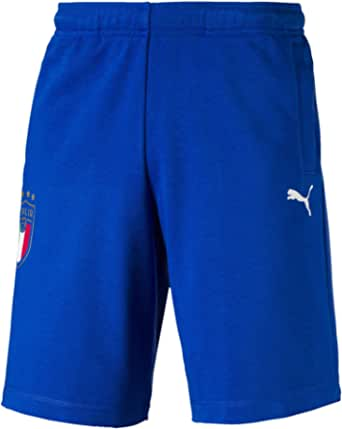 PUMA FIGC Men's Italia Fanwear Bermudas Team Power Blue XS
